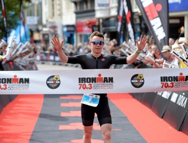 George Goodwin wins Staffordshire 70.3 Ironman